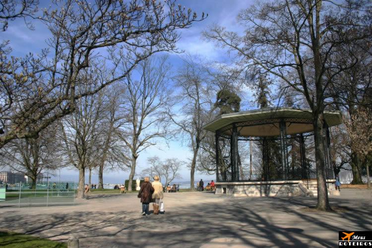 English Garden, Geneva (Jardim Inglês, Genebra)