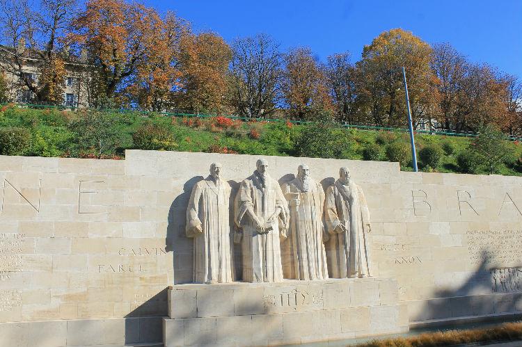 Muro dos Reformadores, Genebra
