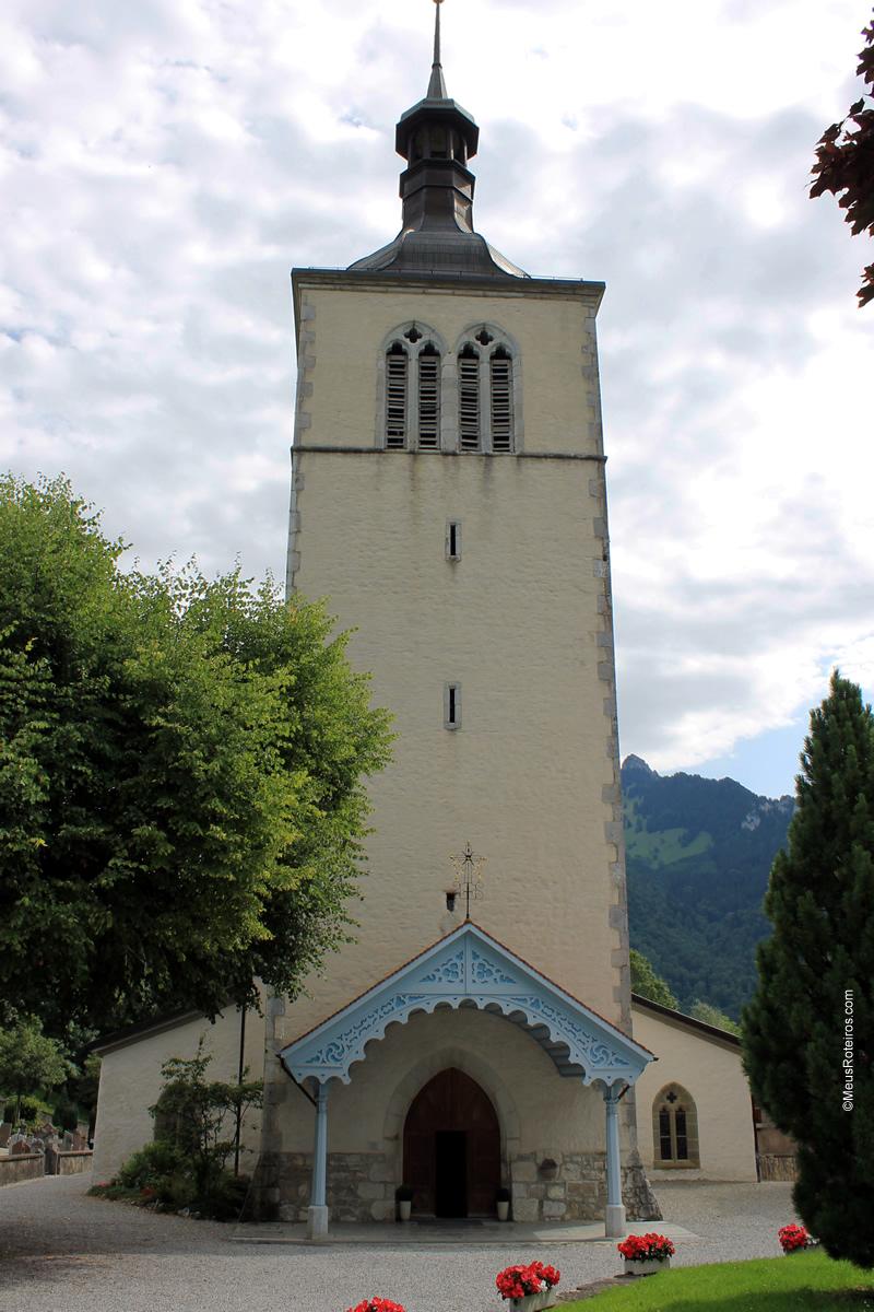 Église St Théodule em Gruyères