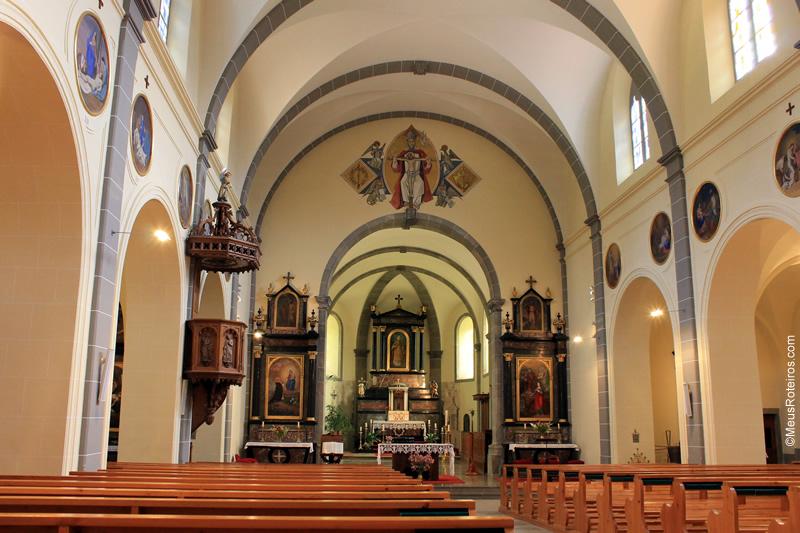 Altar da Igreja de Gruyères