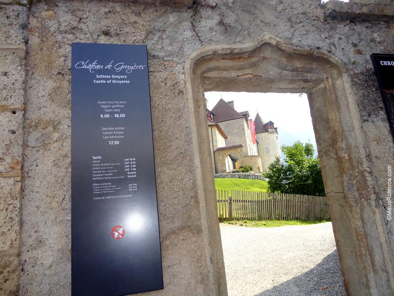 Portão de Entrada do Castelo de Gruyères