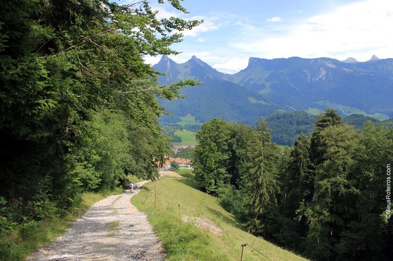 Trilha do Sentier des Fromageries