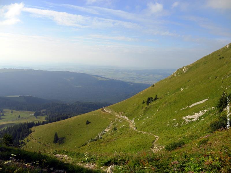 Vista do alto da Montanha do Morison