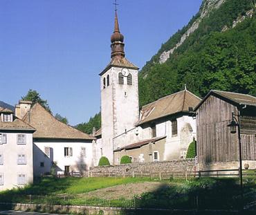 Monastério do Século XII em Sixt Fer à Cheval