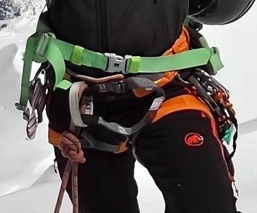 Cadeirinha de escalar (peça laranja)
