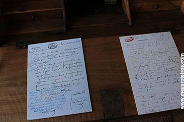 ... e algumas de suas correspondências