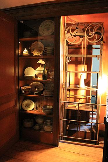 Na cozinha, uma das engenhocas de Pasteur