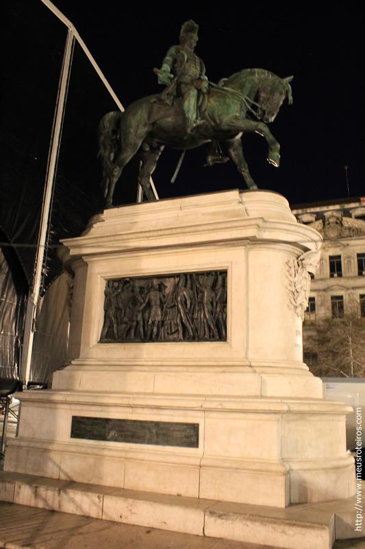 Estátua de D. Pedro IV (Praça da Liberdade)