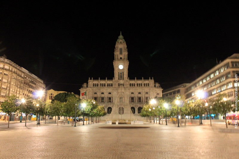 Paços do Concelho, onde funciona a Câmara Municipal do Porto
