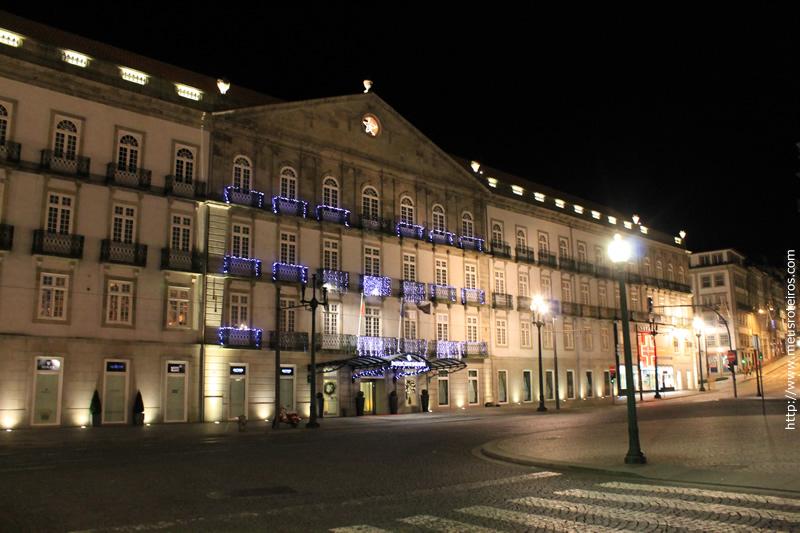 Antigo Palácio das Cardosas onde hoje funciona um hotel