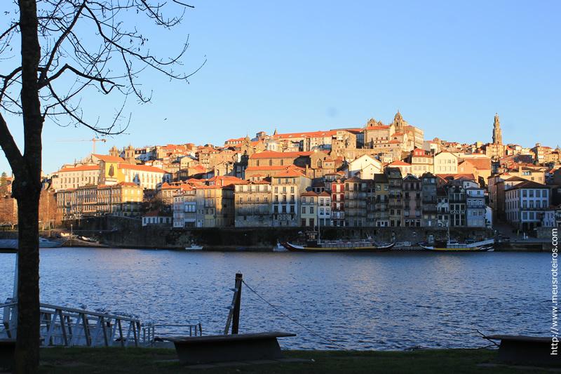 Cidade do Porto vista de Nova Gaia