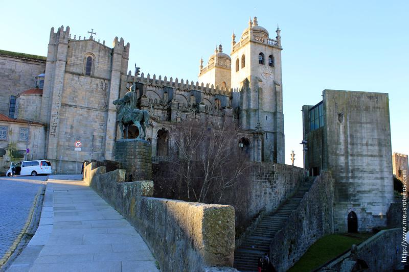 Lateral da Catedral Sé do Porto