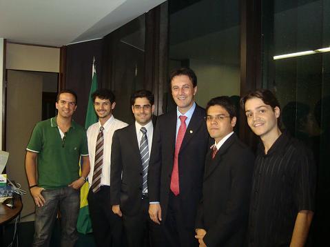 Comissão de Brasília com o Deputado Vignatti