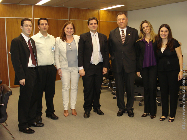 Comissão de SP com o Desembargador Décio, Pres. do TRT2 gestão 2009-2011.