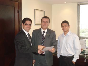 Comissão de Brasília em visita à ANAMATRA (Assoc. Nacional dos Magistrados da Justiça do Trabalho)