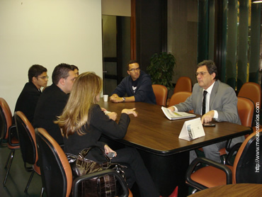 Reunião com o Dep. Federal Waldemir Moka, em Brasília