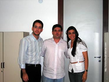 Colaboradores com o assessor do Dep. Federal ACM Neto, em Salvador