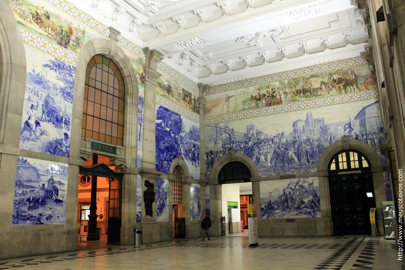 Interior da Estação de Trem São Bento