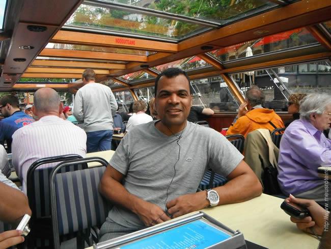 Passeio de barco em Amsterdã
