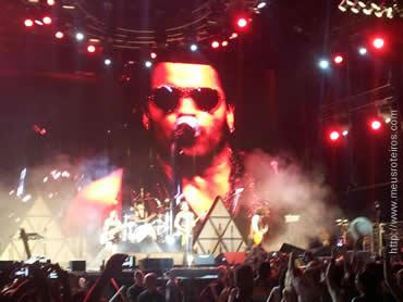 Show de Lenny Kravitz, em Ibiza