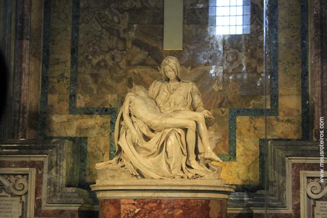 A famosa Pietá...
