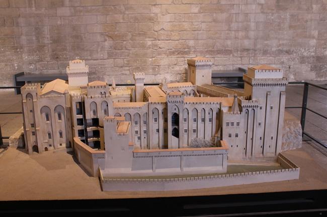 Projeto do Palais des Papes