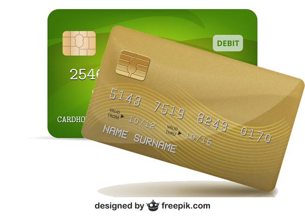 Tenha os dados do cartão de crédito em lugar fácil