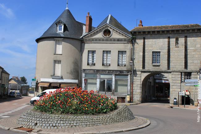 Château-Chinon(Ville), Bourgogne, França