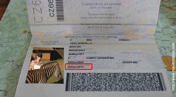 Validade do passaporte deve ser de 3 meses para entrar no continente europeu