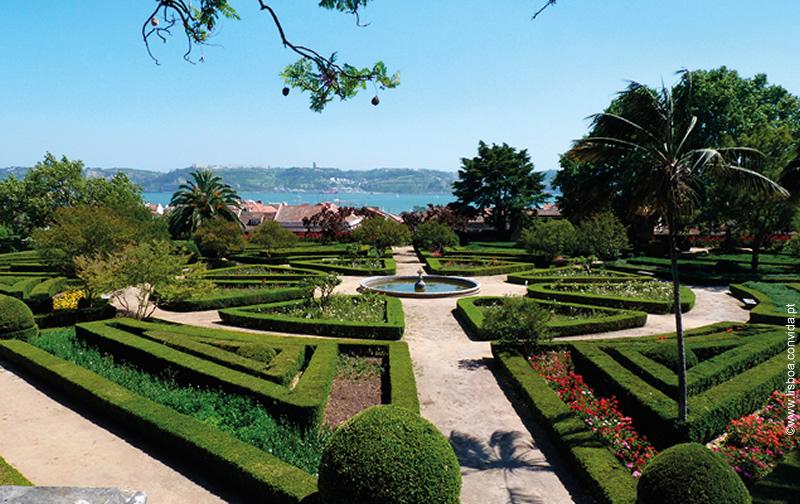 Miradouro do Jardim Botânico da Ajuda (Lisboa)