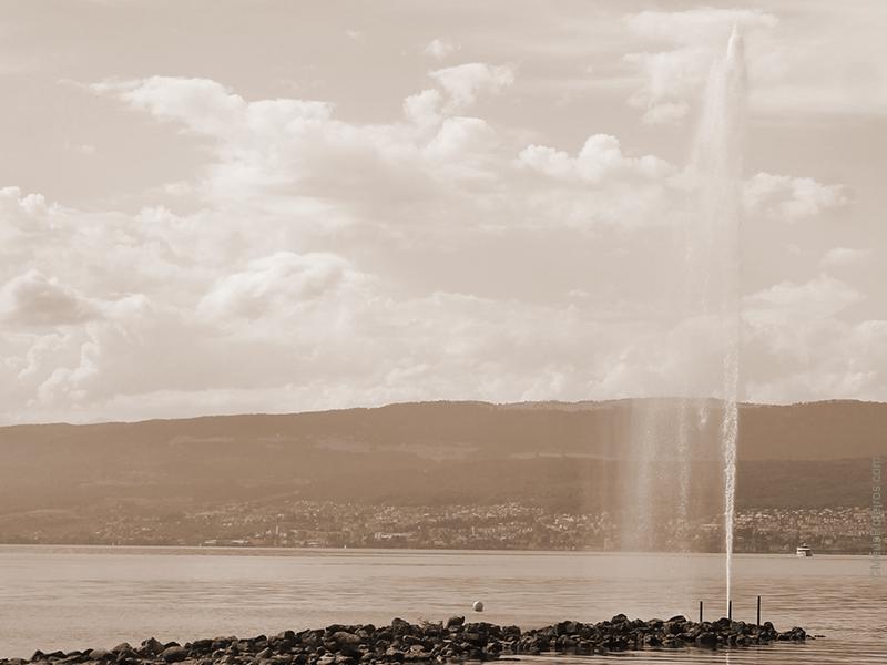 Jet D'eau de Cudrefin / Switzerland
