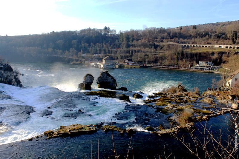 Rheinfall / Cataratas do Rio Reno (Suíça)