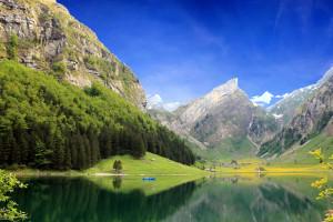 Seealpsee Lake (Suíça) / Switzerland