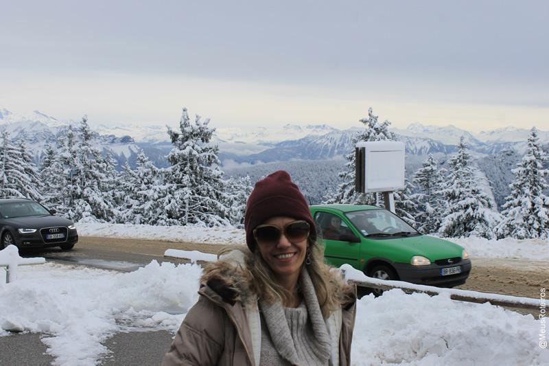 Marlise no Plateau Le Semnoz / Haute Savoie / França