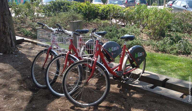 Bicicletas em Cascais