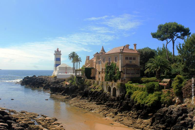 Farol e Casa de Santa Marta