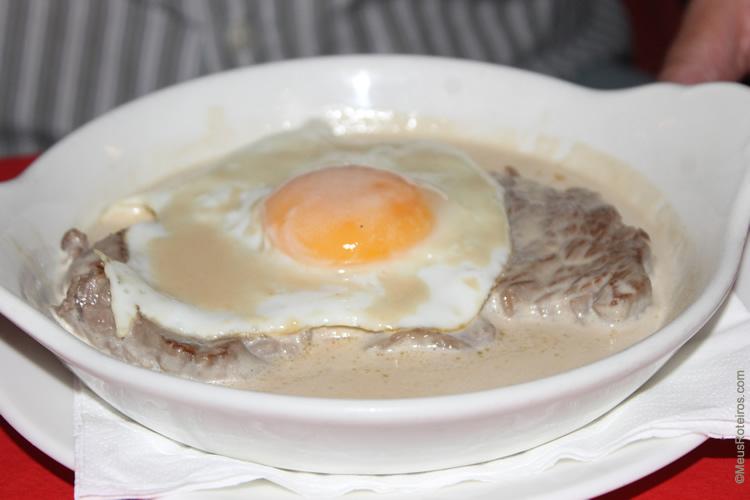 Restaurantes em Lisboa: menu do Café de São Bento
