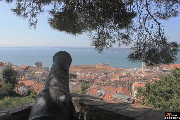 Miradouro do Castelo de São Jorge (Lisboa, Portugal) / São Jorge Castle Viewpoint (Lisbon, Portugal)