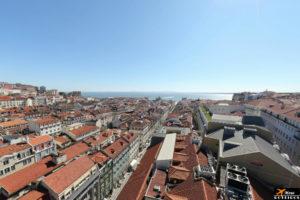 Lift Santa Justa Viewpoint (Lisbon) / Miradouro do Elevador de Santa Justa (Lisboa)