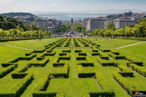 Park Eduardo VII of England Viewpoint (Lisbon) / Miradouro do Parque Eduardo VII (Lisboa)