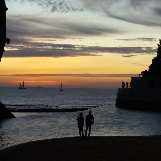 Lisboa Portugal Mais um belo pr do sol em algumhellip