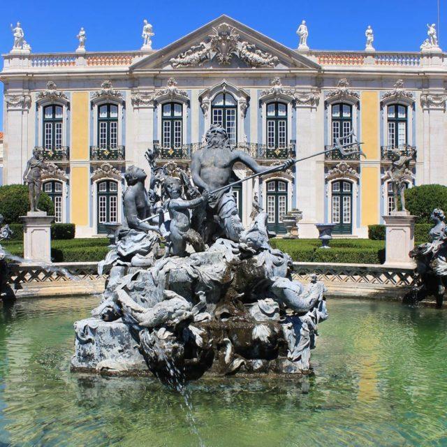 Queluz Portugal ENPT A Portuguese 18thcentury palace located at Queluzhellip