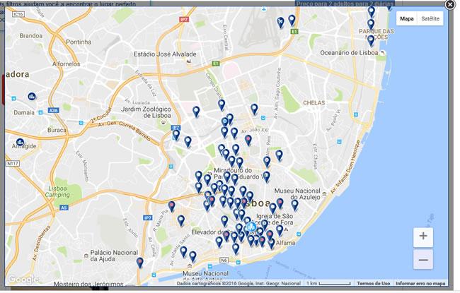 mapa hoteis lisboa Reservar hotel: dicas para você encontrar a hospedagem ideal! mapa hoteis lisboa